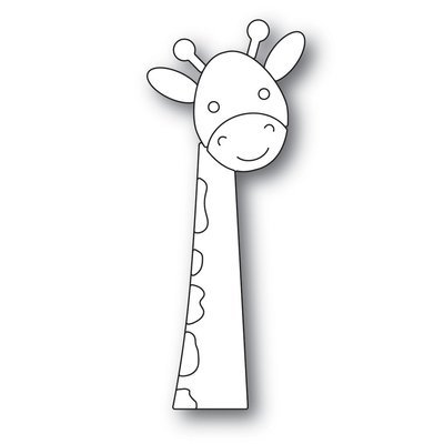Simon Says Stamp  PICTURE BOOK GIRAFFE Die