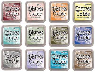 Tim Holtz DISTRESS OXIDE Ink Pad- Set 3