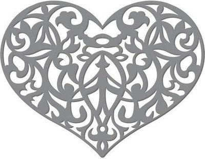 Ultimate Crafts ORNATE HEART Die