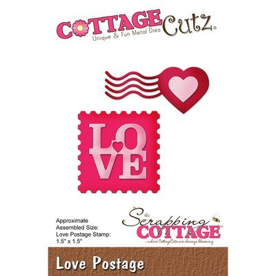 CottageCutz LOVE POSTAGE Die