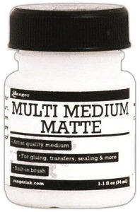 Ranger Ink MINI MULTI MEDIUM MATTE Glue Adhesive 1oz