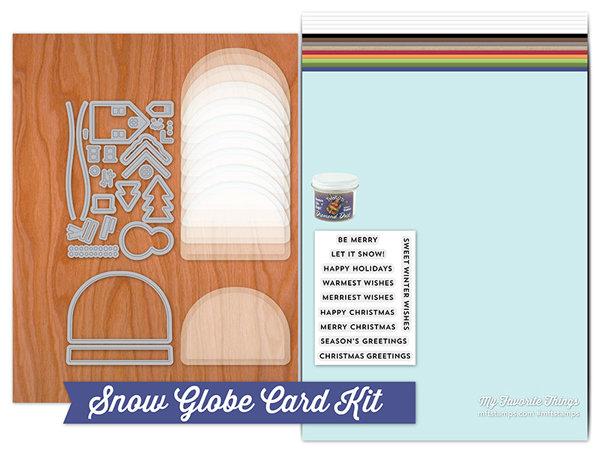 My Favorite Things SNOW GLOBE Kit (partial)