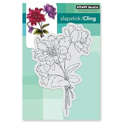 Penny Black FULL OF GLEE Cling Stamp