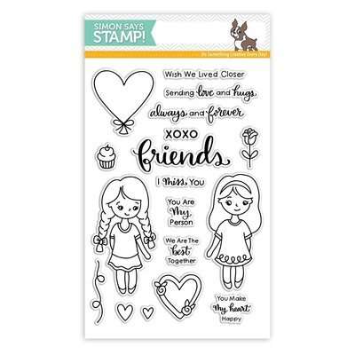 Simon Says Stamp LOVE AND FRIENDSHIP Clear Stamp Set