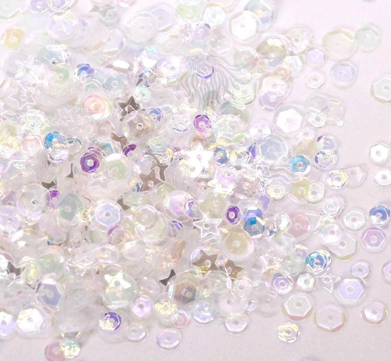 Stardust STAR & SPARKLES Clear Sequin Mix