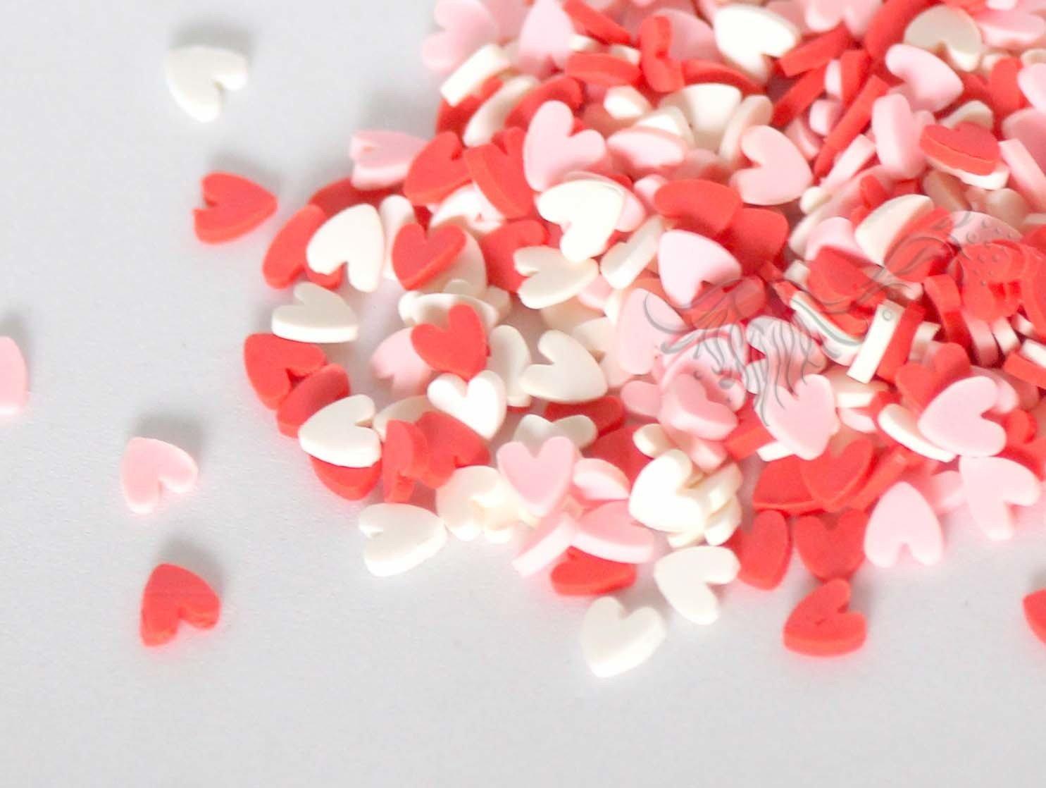 Stardust PINK HEARTS Shaker Bits