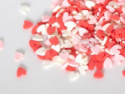 Stardust PINK HEARTS Shaker Bits