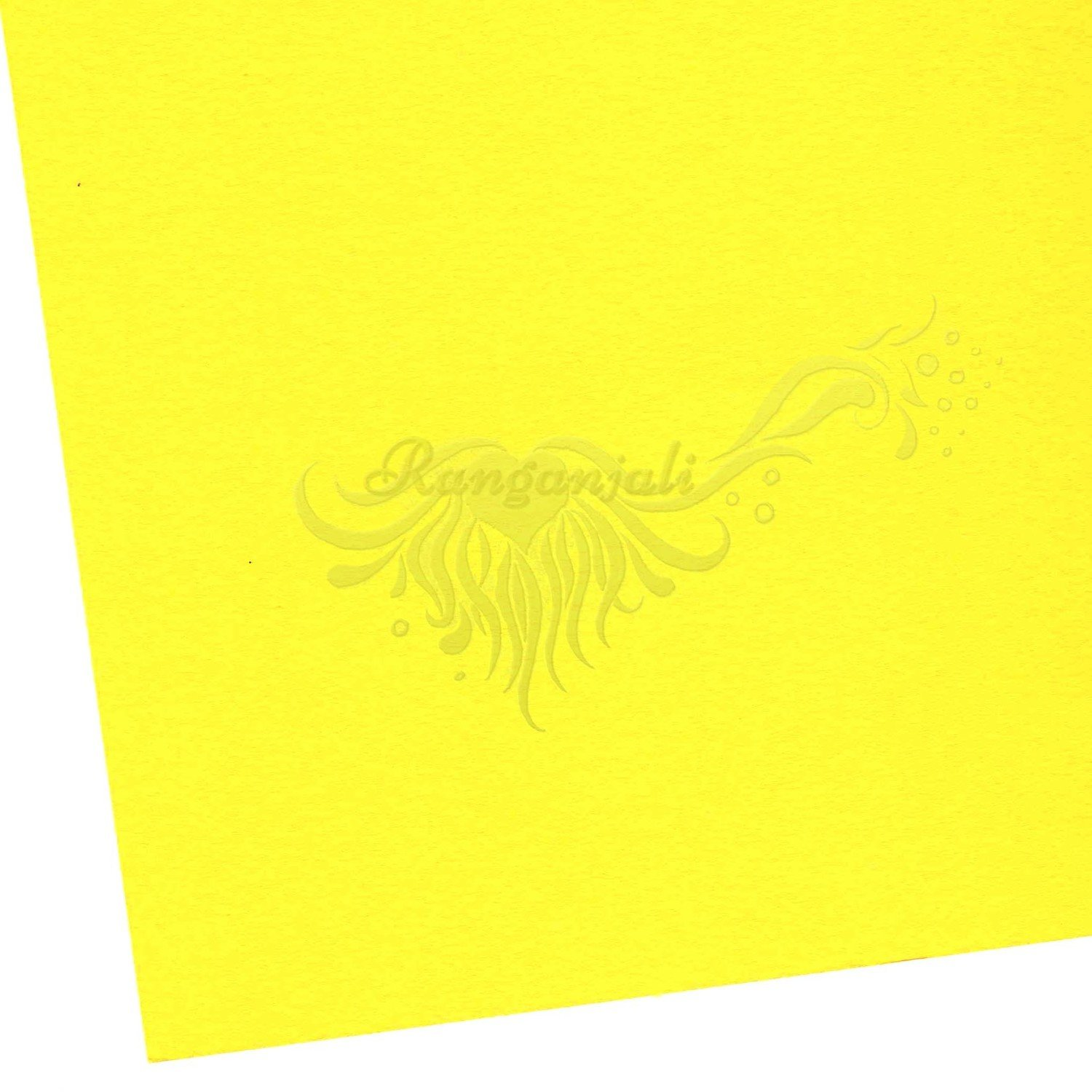 YANGO YELLOW - 250GSM Heavyweight Smooth A4 Cardstock- 5/pk