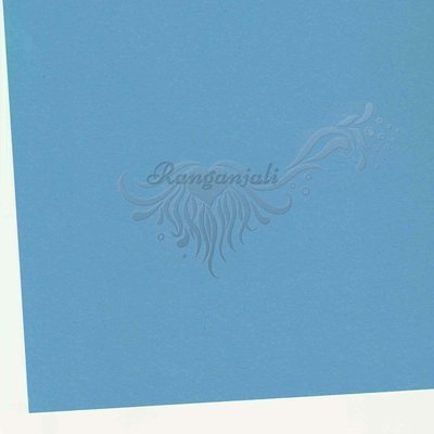 BERGAMO BLUE - 250GSM Heavyweight Smooth A4 Cardstock- 5/pk