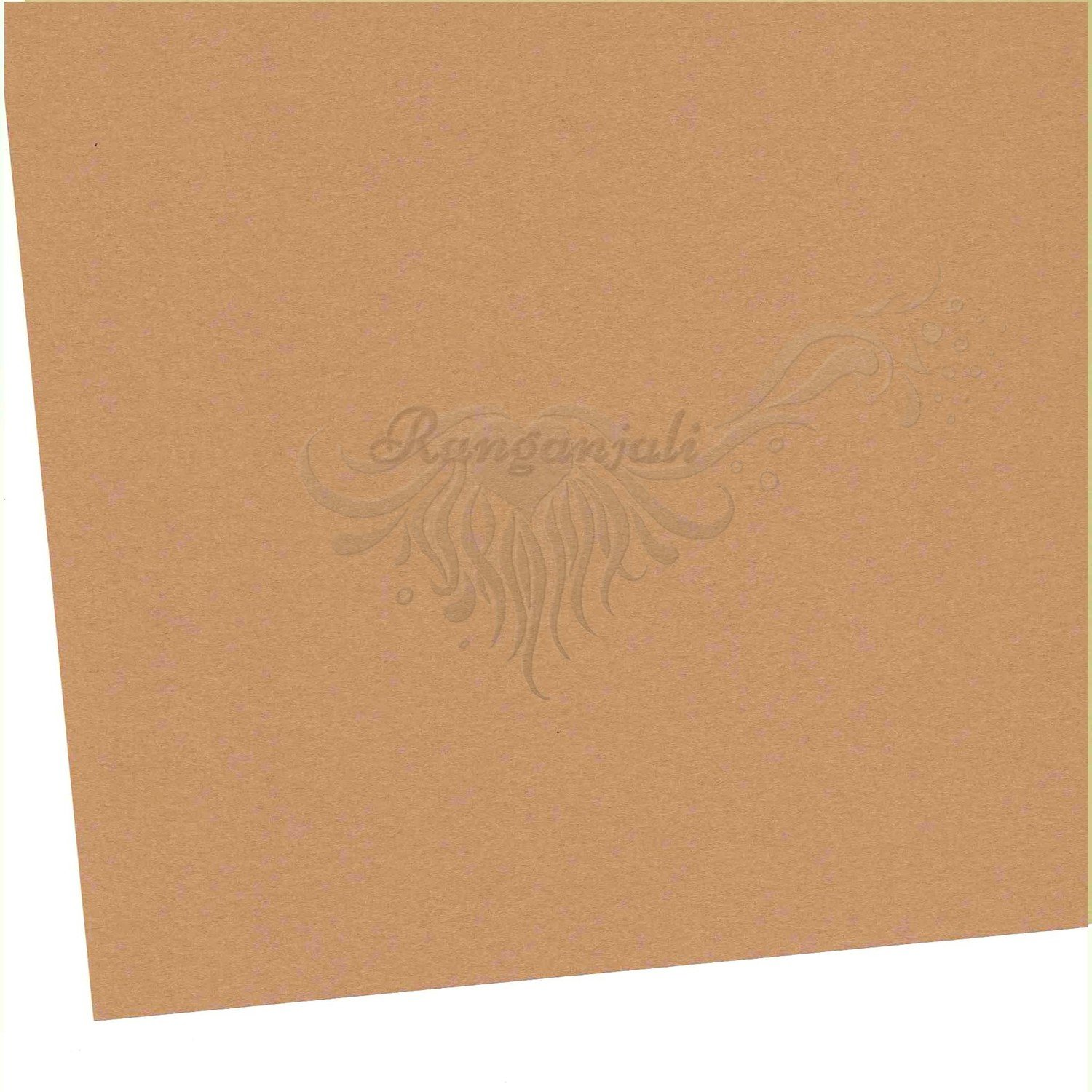 BOSTON BROWN - 250GSM Heavyweight Smooth A4 Cardstock- 5/pk