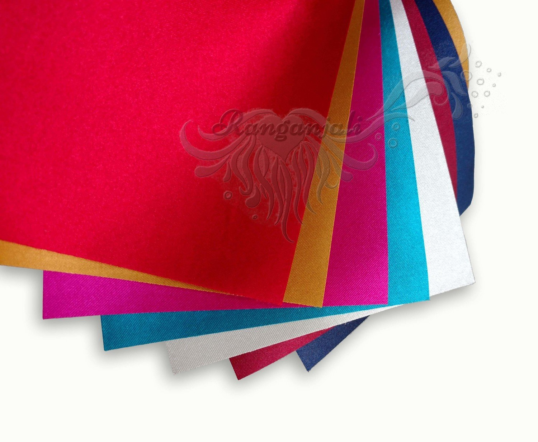FESTIVE Colors SATIN Paper A2 size- 8/pk