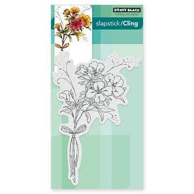 Penny Black ELEGANCE IN MOTION Cling Stamp