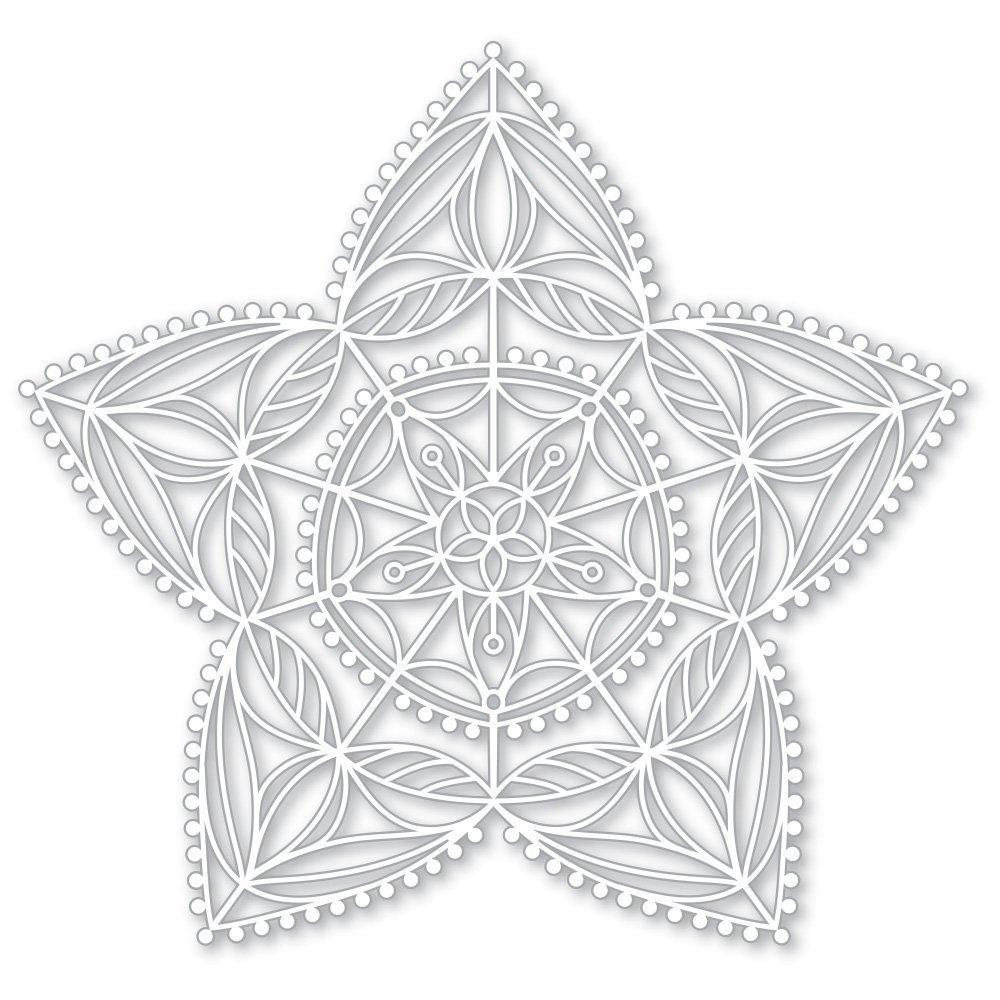 Simon Says Stamp CHRISTMAS STAR Stencil