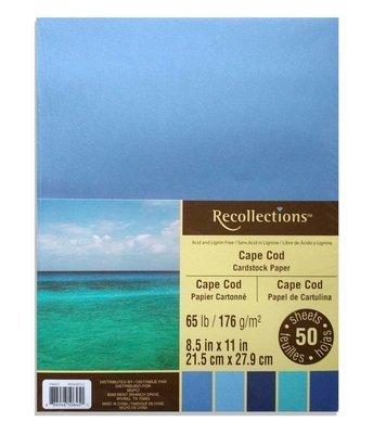 Recollections CAPE CODE Cardstock Paper