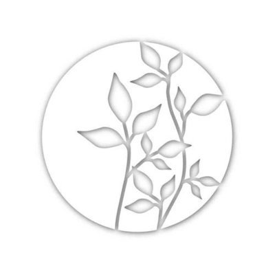 Simon Says Stamp CIRCLE OF LEAVES Wafer Die