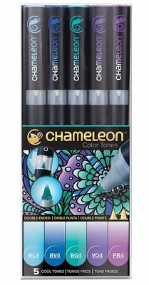 Chameleon COOL TONES Alcohol Ink Pen Set