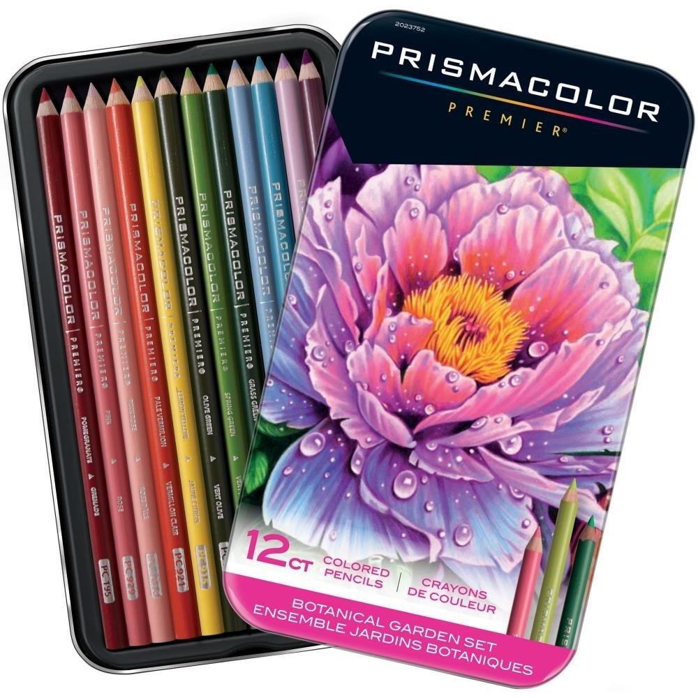 Prismacolor BOTANICAL GARDEN Premier Colored Pencil Set -12