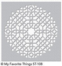 My Favorite Things MOROCCAN MOSAIC Stencil