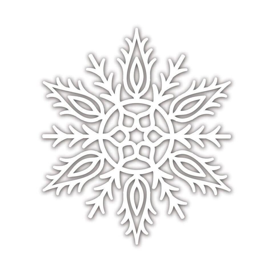 Simon Says Stamp ALICIA SNOWFLAKE Die