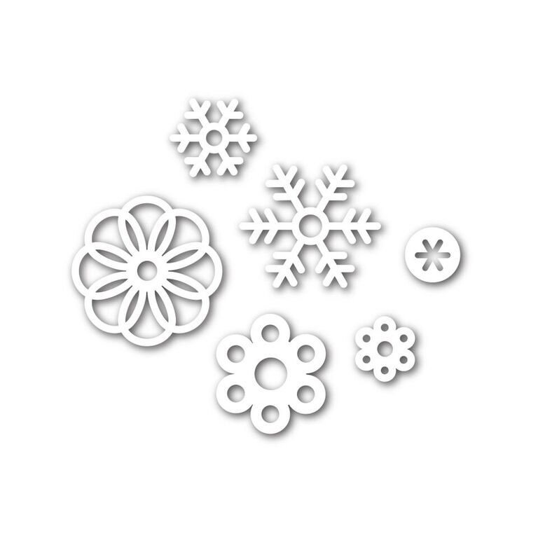 Simon Says Stamp SNOW FLURRIES Die Set
