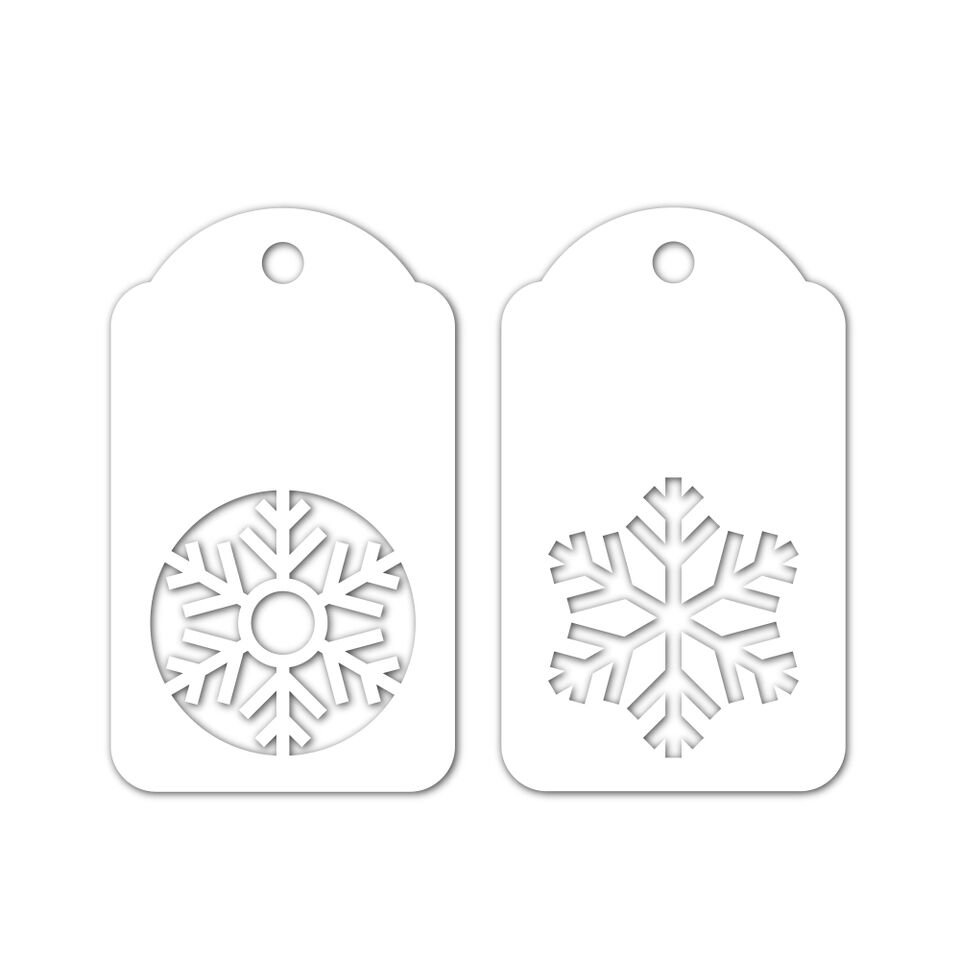 Simon Says Stamp SNOWFLAKES TAGS Die Set