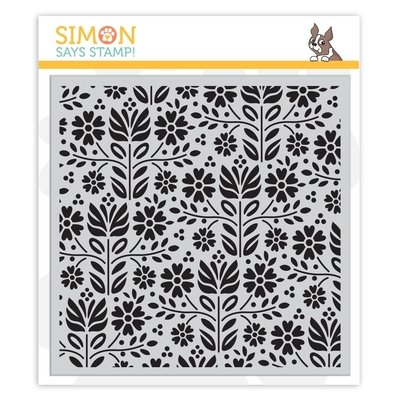Simon Says Stamp FOLK DANCE Cling Stamp