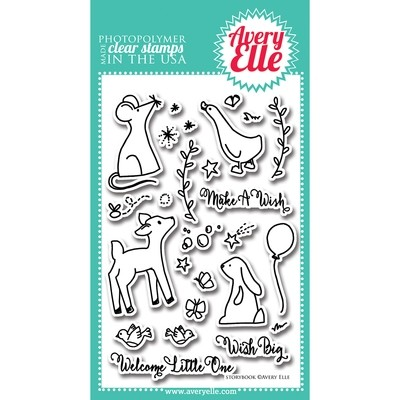 Avery Elle STORYBOOK Clear Stamp Set