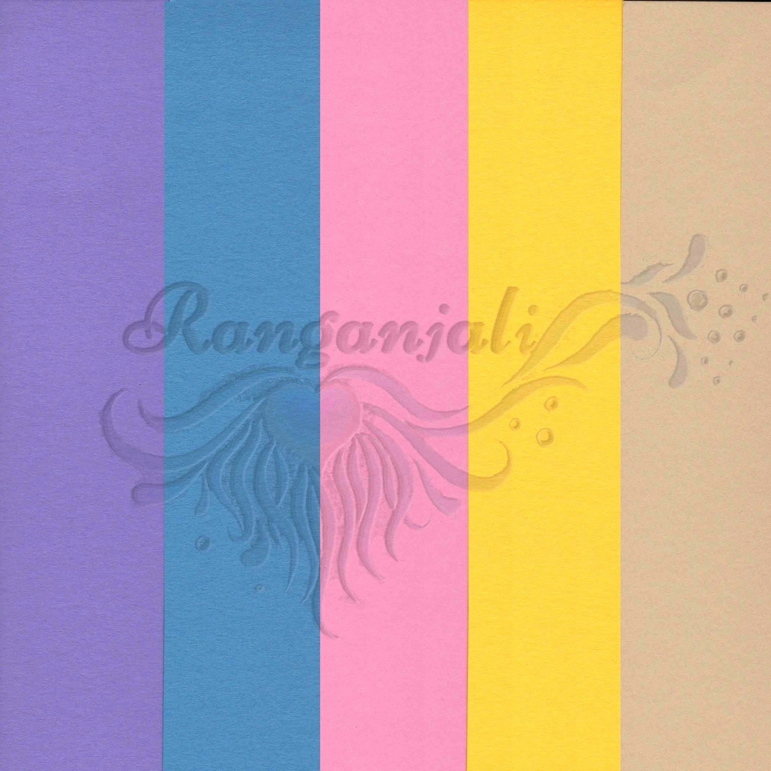PASTELS 250GSM Heavyweight Smooth A4 Cardstock- 10/pk