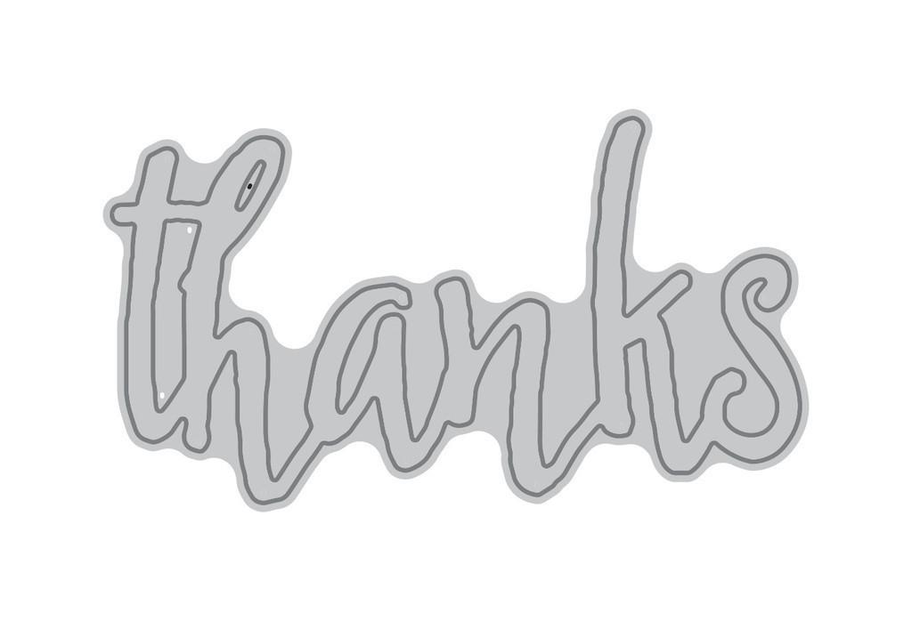 Altenew THANKS Word Die