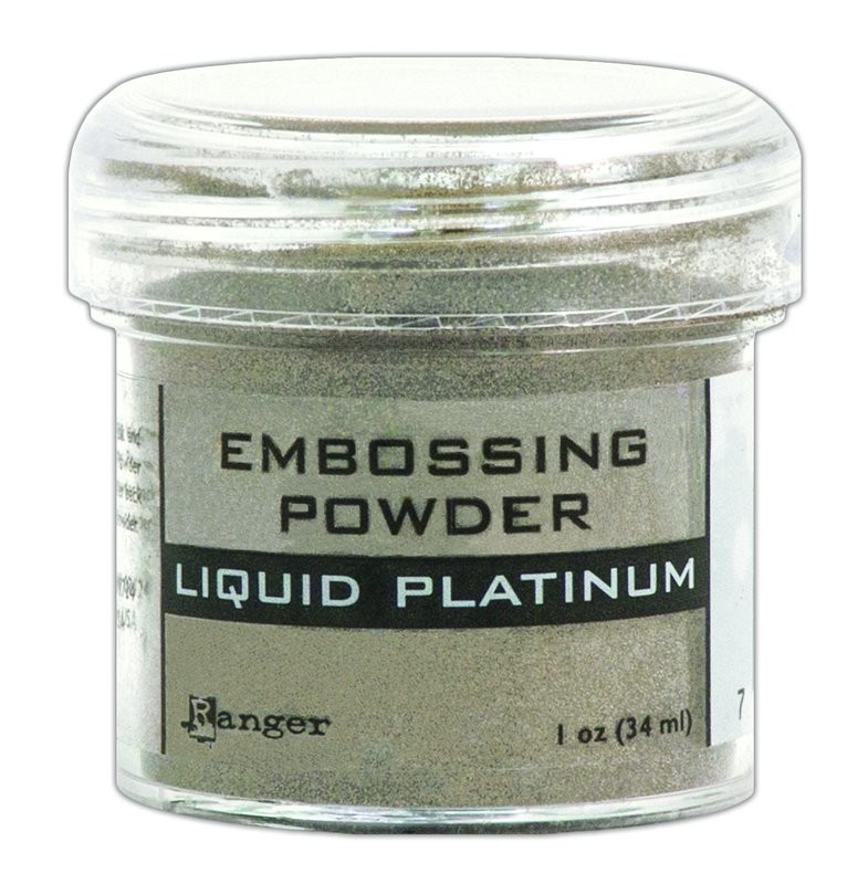 Ranger LIQUID PLATINUM Embossing Powder 1oz