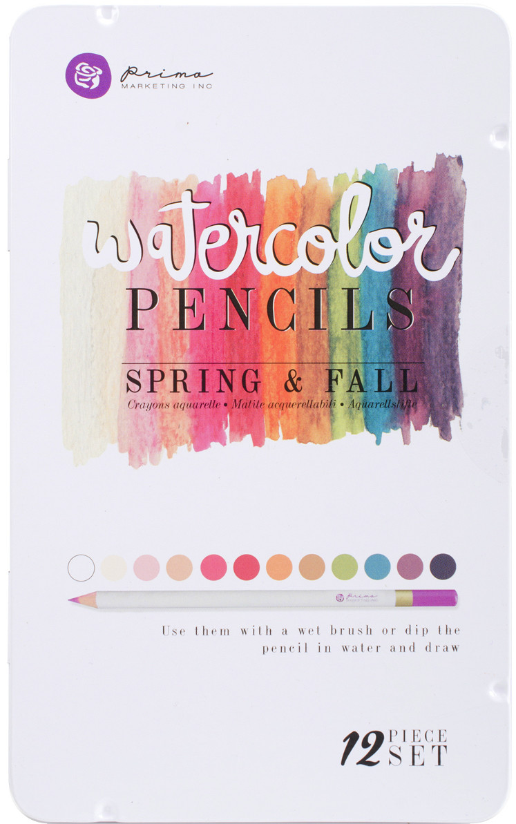 Prima Marketing SPRING & FALL Watercolor Pencil Set