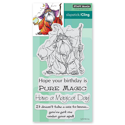 Penny Black WIZ Cling Stamp