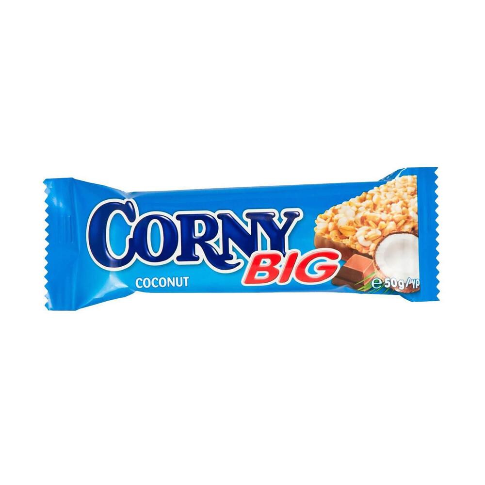 Злаковый батончик Сorny (Полоска злаковая с кокосом и молочным шоколадом)