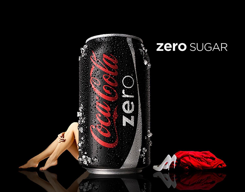 Coca Cola ZERO  (Россия)