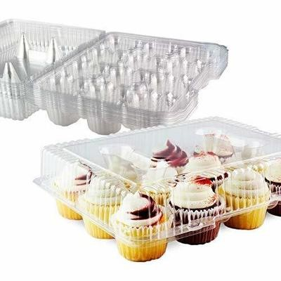 Cupcake Container Clamshell - 12 Regular