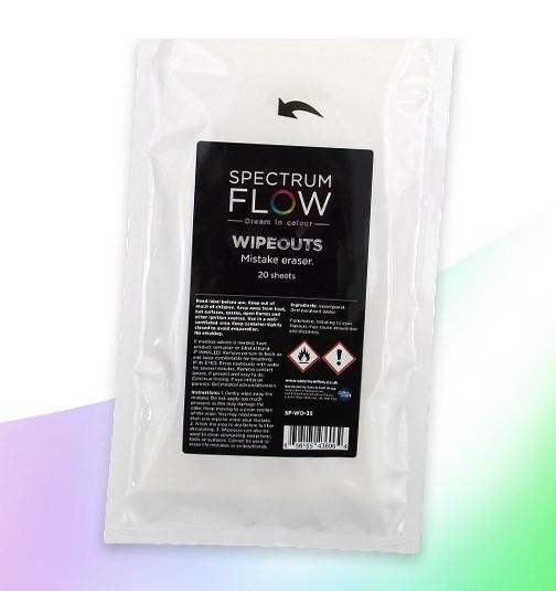 SPECTRUM FLOW WIPEOUTS - Mistake Erasers BB 12/31/20