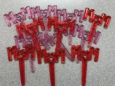 Mom Cupcake Picks