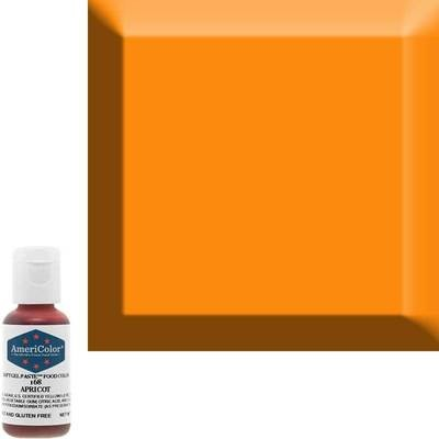 Apricot Americolor 0.75 oz Soft Gel Paste