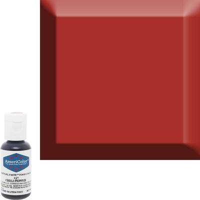 Chili Pepper  Americolor 0.75 oz Soft Gel Paste