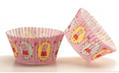 Peppa Pig Cupcake Cases