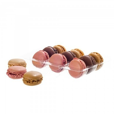 12 Count Macaroon Packaging - SAVE WHEN YOU BUY 10 OR MORE!