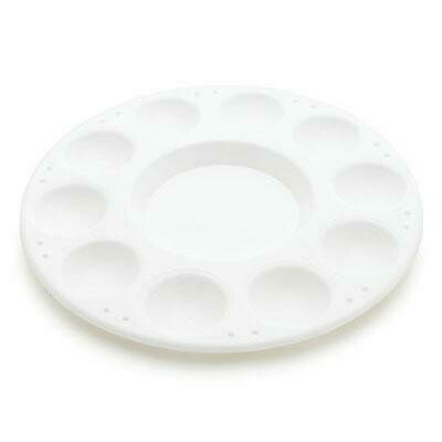 Round Paint & Water Tray