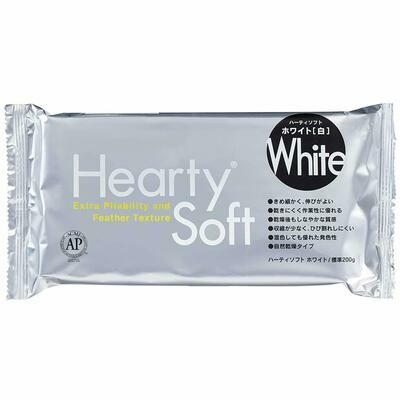 Hearty Clay - White