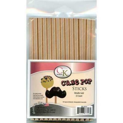 Paper Straws - Gold