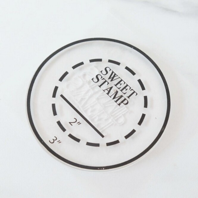 SweetStamp - PickUpPad - Round