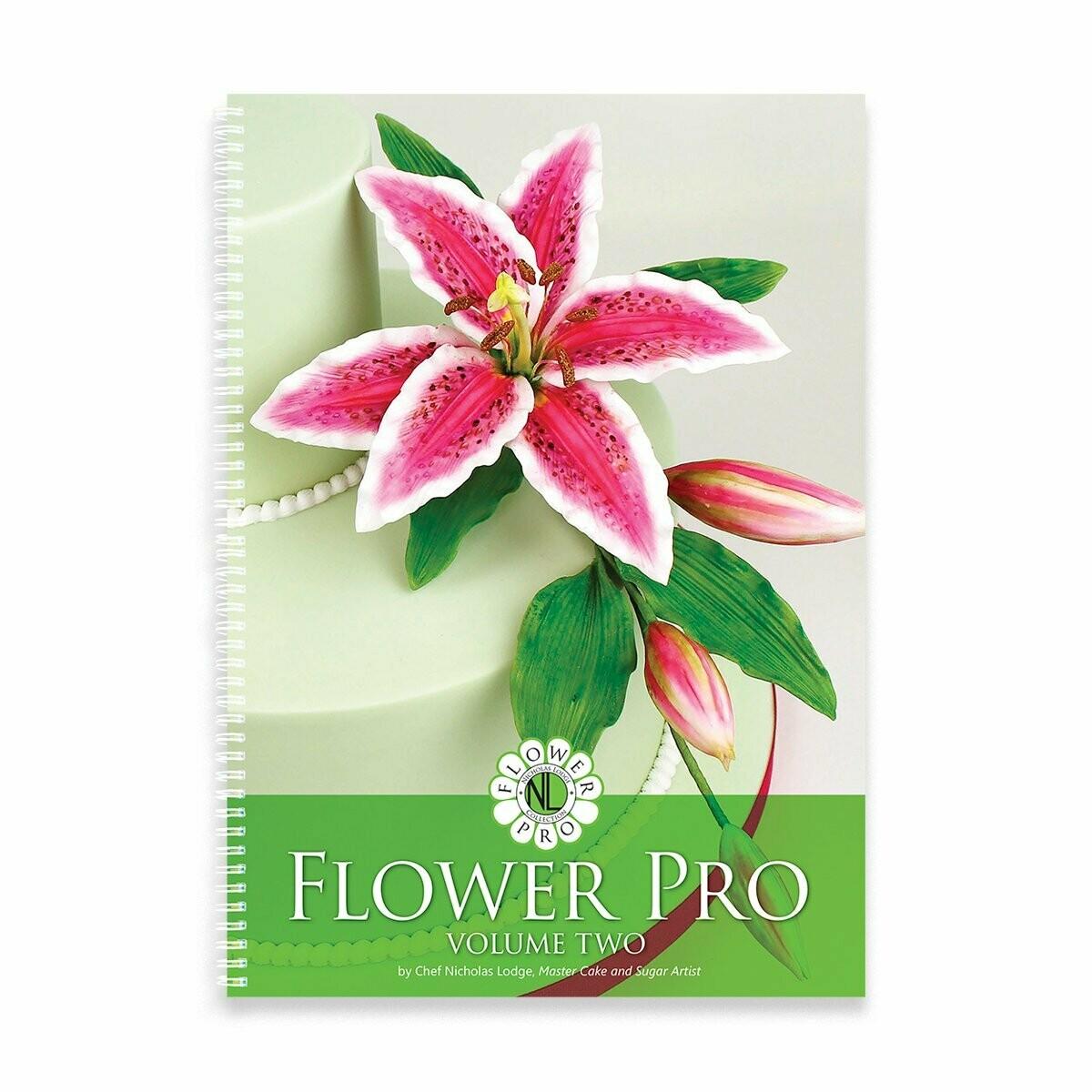 Flower Pro Collection Book Vol. 2 - Autographed by Nicholas Lodge
