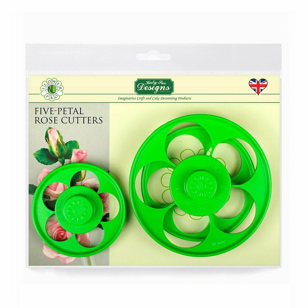 Flower Pro 5 Petal Rose Cutter Set