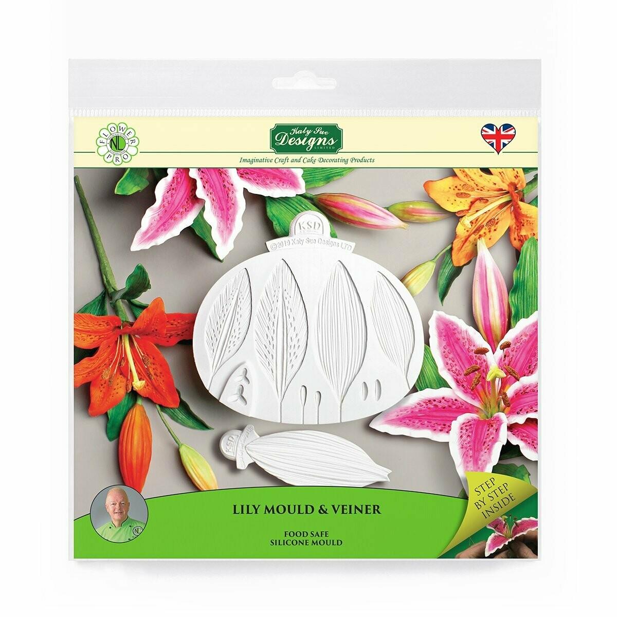 Flower Pro Lily Mould & Veiner
