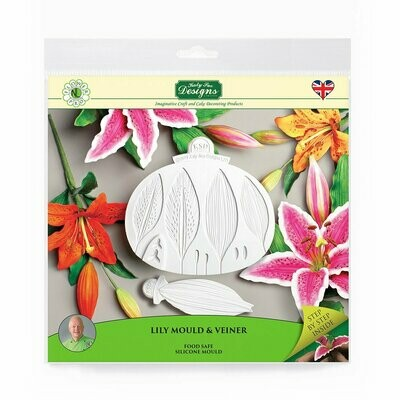 Flower Pro Lily Mould & Veiner
