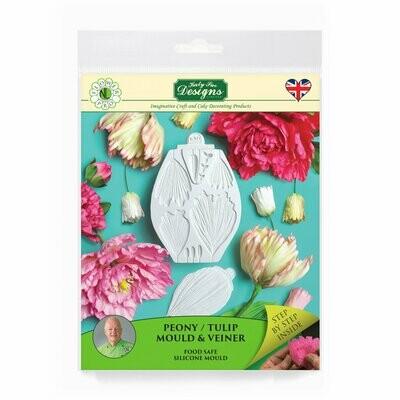 Flower Pro Peony/Tulip Mold & Veiner